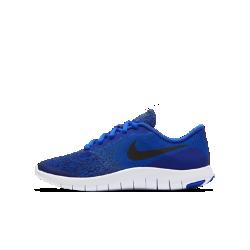 Беговые кроссовки для школьников Nike Flex ContactБеговые кроссовки для школьников Nike Flex Contact с верхом из эластичного материала обеспечивают комфорт и естественность движений стопы во время движения.<br>