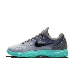 Мужские теннисные кроссовки Nike Zoom Cage 3 ClayКроссовки Nike Zoom Cage 3 разработаны для игроков, которые ценят силу и скорость во время игры. Уникальная, самая легкая в линейке конструкция каркаса обеспечивает максимальную прочность и амортизацию.  МАКСИМАЛЬНАЯ ПРОЧНОСТЬ  Легкий резиновый каркас защищает зоны, подверженные повышенному износу при игре в теннис. Разделенный на зоны каркас для легкости и стабилизации.  ПРЕВОСХОДНОЕ СЦЕПЛЕНИЕ С ПОВЕРХНОСТЬЮ  Разделенная на зоны подметка для превосходного сцепления и прочности. Идеально для корта с грунтовым покрытием.  МАКСИМАЛЬНЫЙ КОМФОРТ  Вставка Nike Zoom Air в области пятки обеспечивает легкость и мгновенную амортизацию.<br>