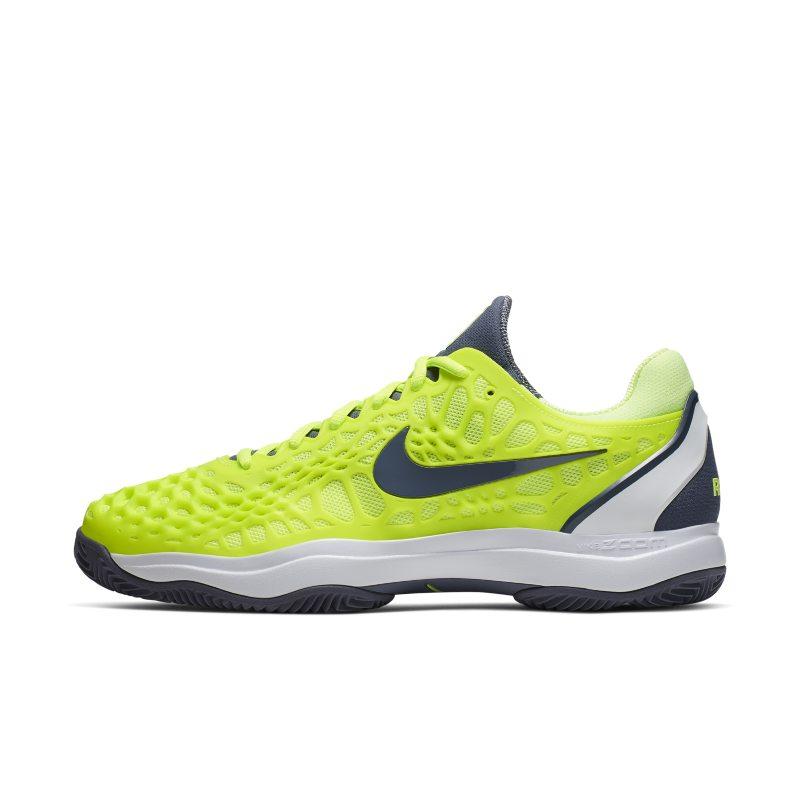 NikeCourt Zoom Cage 3 Zapatillas de tenis para tierra batida - Hombre - Amarillo