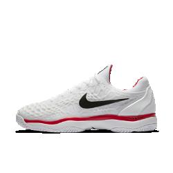 Мужские теннисные кроссовки Nike Zoom Cage 3Кроссовки Nike Zoom Cage 3 разработаны для игроков, которые ценят силу и скорость во время игры. Уникальная, самая легкая в линейке конструкция каркаса обеспечивает максимальную прочность и амортизацию.<br>