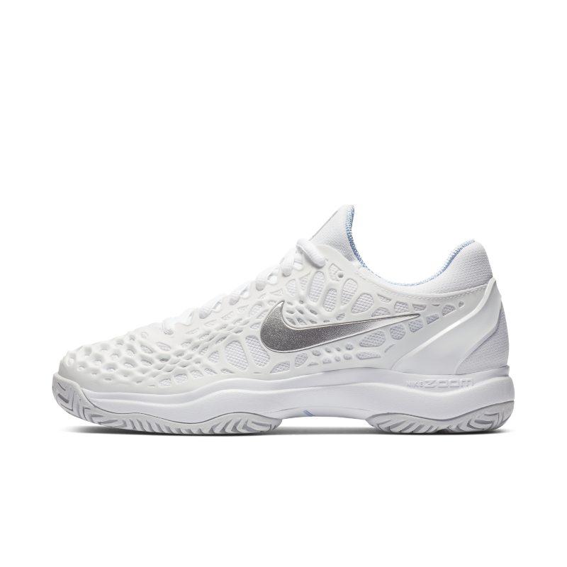 NikeCourt Zoom Cage 3 Zapatillas de tenis de pista rápida - Mujer - Blanco