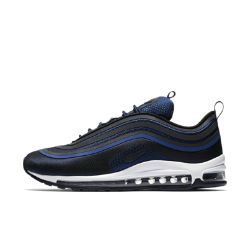 Мужские кроссовки Nike Air Max 97 Ultra17Мужские кроссовки Nike Air Max 97 Ultra17,дизайн которых вдохновлен обтекаемой формой оригинальной модели, обеспечивают длительный комфорт благодаря легкой конструкции и мгновенной амортизации.<br>