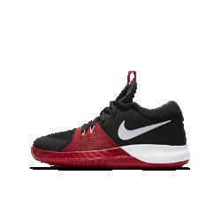 Баскетбольные кроссовки для школьников Nike Zoom AssersionБаскетбольные кроссовки для школьников Nike Zoom Assersion с комбинированной подошвой обеспечивают абсолютную поддержку, помогая резко менять направление движения за доли секунды.<br>
