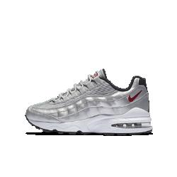 Кроссовки для школьников Nike Air Max 95 QSВдохновленные классической моделью 90-х годов, кроссовки для школьников Nike Air Max 95 QS с дышащим верхом и превосходной амортизацией обеспечивают длительный комфорт и защиту от ударных нагрузок.<br>