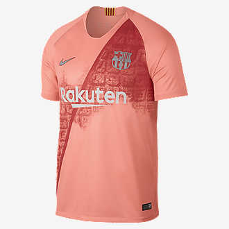 88f9720b291 2018/19 FC Barcelona Stadium Third. Men's Soccer Jersey
