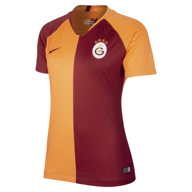 2018/19 Galatasaray S.K. Stadium Home Damen-Fußballtrikot – Orange