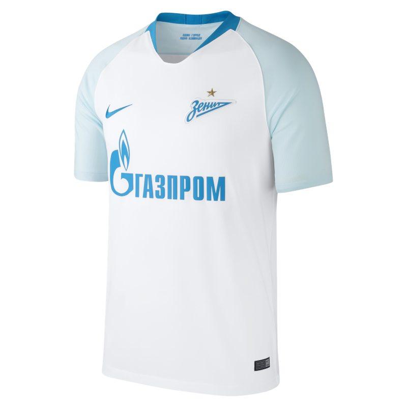 2018/19 FC Zenit Stadium Away Herren-Fußballtrikot – Weiß