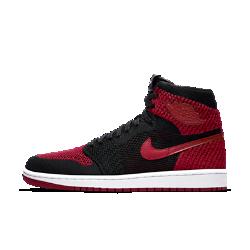 Мужские кроссовки Air Jordan 1 Retro High FlyknitМужские кроссовки Air Jordan 1 Retro High Flyknit — новая версия культового оригинала с легким и гибким верхом из материала Flyknit.<br>