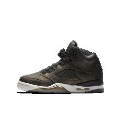 Кроссовки для школьников Air Jordan 5 Retro Premium Heiress CollectionКроссовки для школьников Air Jordan 5 Retro Premium Heiress Collection с фирменными элементами обеспечивают классический уровень комфорта, сделавший популярной оригинальную модель.<br>