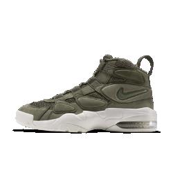 Мужские кроссовки Nike Air Max Uptempo 2Мужские кроссовки Nike Air Max Uptempo 2 с системой шнуровки в виде сетки и вставкой Air-Sole в области пятки обеспечивают такую же стабилизацию и невесомую амортизацию, которыесделали знаменитой оригинальную баскетбольную модель.<br>