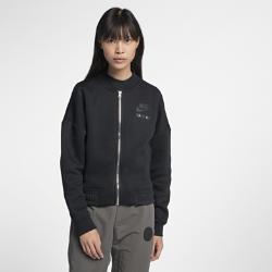 Женская куртка Nike Sportswear RallyЖенская куртка Nike Sportswear Rally из мягкого флиса обеспечивает тепло и комфорт на весь день.<br>