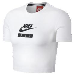Женская футболка Nike SportswearЖенская футболка Nike Sportswear обеспечивает комфорт на весь день благодаря мягкой ткани и укороченному крою.<br>
