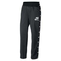 Женские брюки Nike Sportswear ArchiveЖенские брюки Nike Sportswear Archive созданы в стиле культовой модели для бега. Мягкая эластичная ткань и слегка расклешенный крой отражают ключевые черты оригинала.<br>