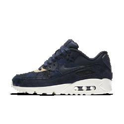 Женские кроссовки Nike Air Max 90Женские кроссовки Nike Air Max 90 — это детали из замши, легендарный профиль и видимая вставка Max Air в области пятки для создания образа в стиле ретро и непревзойденной защиты от ударных нагрузок.<br>