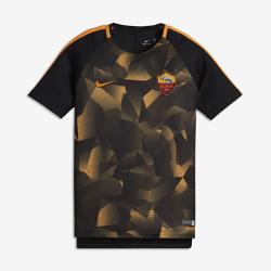 Игровая футболка для школьников AS Roma Dry SquadИгровая футболка для школьников AS Roma Dry Squad обеспечивает комфорт во время игры благодаря легкой влагоотводящей ткани и сетчатой вставке на спине.<br>