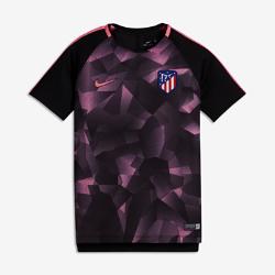 Игровая футболка для школьников Atletico de Madrid Dry SquadИгровая футболка для школьников Atletico de Madrid Dry Squad обеспечивает комфорт во время игры благодаря легкой влагоотводящей ткани и сетчатой вставке на спине.<br>