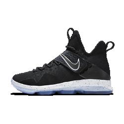 Мужские баскетбольные кроссовки LeBron XIV EPМужские баскетбольные кроссовки LeBron XIV EP с новым эластичным ремешком в средней части стопы — легкая, гибкая и элегантная модель для игры на высокой скорости.  Фиксация и поддержка  Широкий эластичный ремешок в средней части стопы обеспечивает невесомую динамическую поддержку при каждом движении на любой скорости. Технология Flywire — сверхлегкие и невероятно прочные нити, интегрированные со шнурками, — обеспечивает максимальную фиксацию.  Легкость и комфорт  Три легких слоя — эластичный внутренний слой, перфорированный пеноматериал и тонкая сетка — обеспечивают функциональную воздухопроницаемость, гибкость и поддержку.<br>