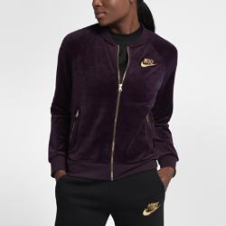 Женская куртка Nike SportswearЖенская куртка Nike Sportswear из мягкой ткани обеспечивает комфорт на весь день.<br>