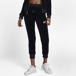 Женские брюки из велюра Nike SportswearЖенские брюки из велюра Nike Sportswear из мягкой ткани обеспечивают абсолютный комфорт.<br>