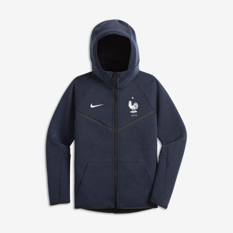 FFF Tech Fleece Windrunner Older Kids Jacket - Blue