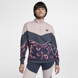 Nike Sportswear Floral Women's Jacket Size XS (Blue)