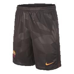 Футбольные шорты для школьников 2017/18 A.S. Roma Stadium ThirdФутбольные шорты для школьников 2017/18 A.S. Roma Stadium Third обеспечивают легкость и комфорт на трибунах или улицах города.<br>