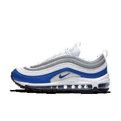 Женские кроссовки Nike Air Max 97Женские кроссовки Nike Air Max 97 сохранили легендарные элементы дизайна, благодаря которым кроссовки стали популярными: волнообразные линии, светоотражающие детали и амортизирующая вставка Max Air во всю длину.<br>
