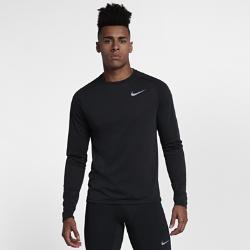 Мужская беговая футболка с длинным рукавом Nike TailwindМужская беговая футболка с длинным рукавом Nike Tailwind обеспечивает комфорт на самых напряженных пробежках в прохладную погоду. Невероятно мягкая ткань идеально сочетается с сеткой на спине, отводящей излишки тепла.  Непревзойденная вентиляция  Ткань Nike Breathe отводит влагу от кожи, а вставка из сетки на спине обеспечивает воздухопроницаемость. Поэтому ты ощущаешь прохладу и комфорт.  Свобода движений  Рукава покроя реглан и вставки в области подмышек обеспечивают естественную свободу движений во время бега.  Выгляди стильно  Классический крой свитшота позволяет выглядеть стильно на пробежке и каждый день.<br>