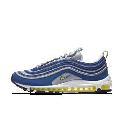 Мужские кроссовки Nike Air Max 97Мужские кроссовки Nike Air Max 97 предстают с тем же футуристичным дизайном и видимой системой амортизации во всю длину стопы, которые прославили оригинальную модель.<br>