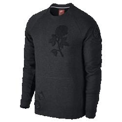 Мужской свитшот Nike Sportswear Tech FleeceМужской свитшот Nike Sportswear Tech Fleece — идеальная версия толстовки из особого флиса для легкости и тепла. Он дополнен элементами, нанесенными в техники аппликации, в томчисле черной розой из шенилла. Черная роза символизирует сопротивление, храбрость и избавление от старых привычек.<br>