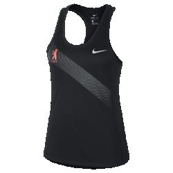 Женская беговая майка Nike Miler (Berlin 2017)Женская беговая майка Nike Miler (Berlin 2017) из влагоотводящей ткани обеспечивает комфорт от старта до финиша. Боковые вставки из сетки отводят излишнее тепло для охлаждения.<br>