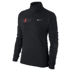 Женская беговая футболка Nike Element (Berlin 2017)Женская беговая футболка Nike Dry Element (Berlin 2017) из влагоотводящей ткани со вставкой из сетки в верхней части спины обеспечивает охлаждение и комфорт на всей дистанции. Эта легкая модель идеально подходит для пробежек ранним утром или вечером.<br>