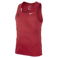 Мужская беговая майка Nike Miler (Berlin 2017)Мужская беговая майка Nike Miler (Berlin 2017) из влагоотводящей ткани обеспечивает комфорт от старта до финиша.<br>
