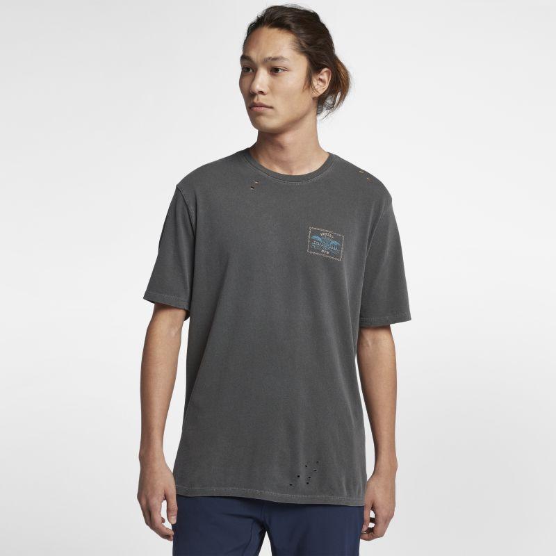 Nike Hurley Chained Up Destroy Grind Men's T-Shirt - Black Image