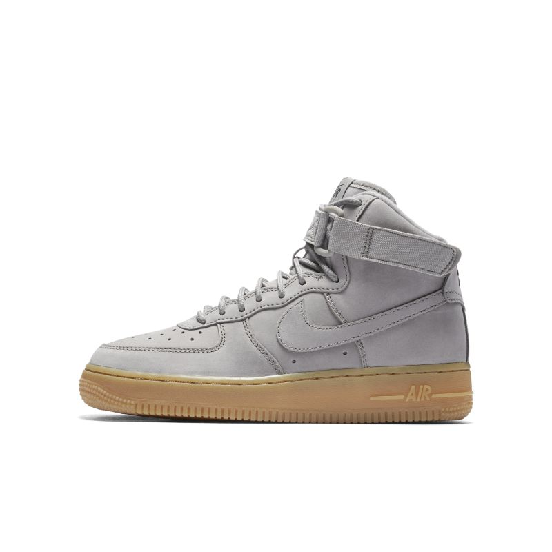 Nike Air Force 1 High WB Older Kids' Shoe - Grey Thumbnail Image