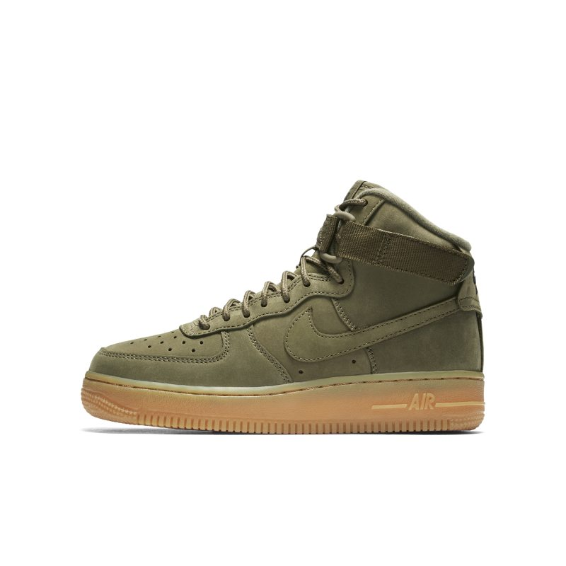 9dcaa128a25def Nike Air Force 1 High WB Older Kids  Shoe - Olive