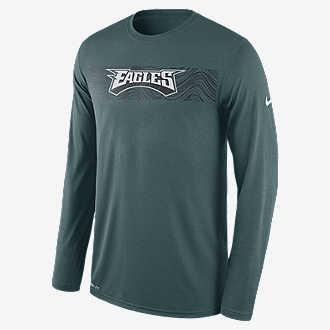 Nike Dri-FIT Legend Seismic (NFL Eagles). Men s Long Sleeve T-Shirt db6f9e096