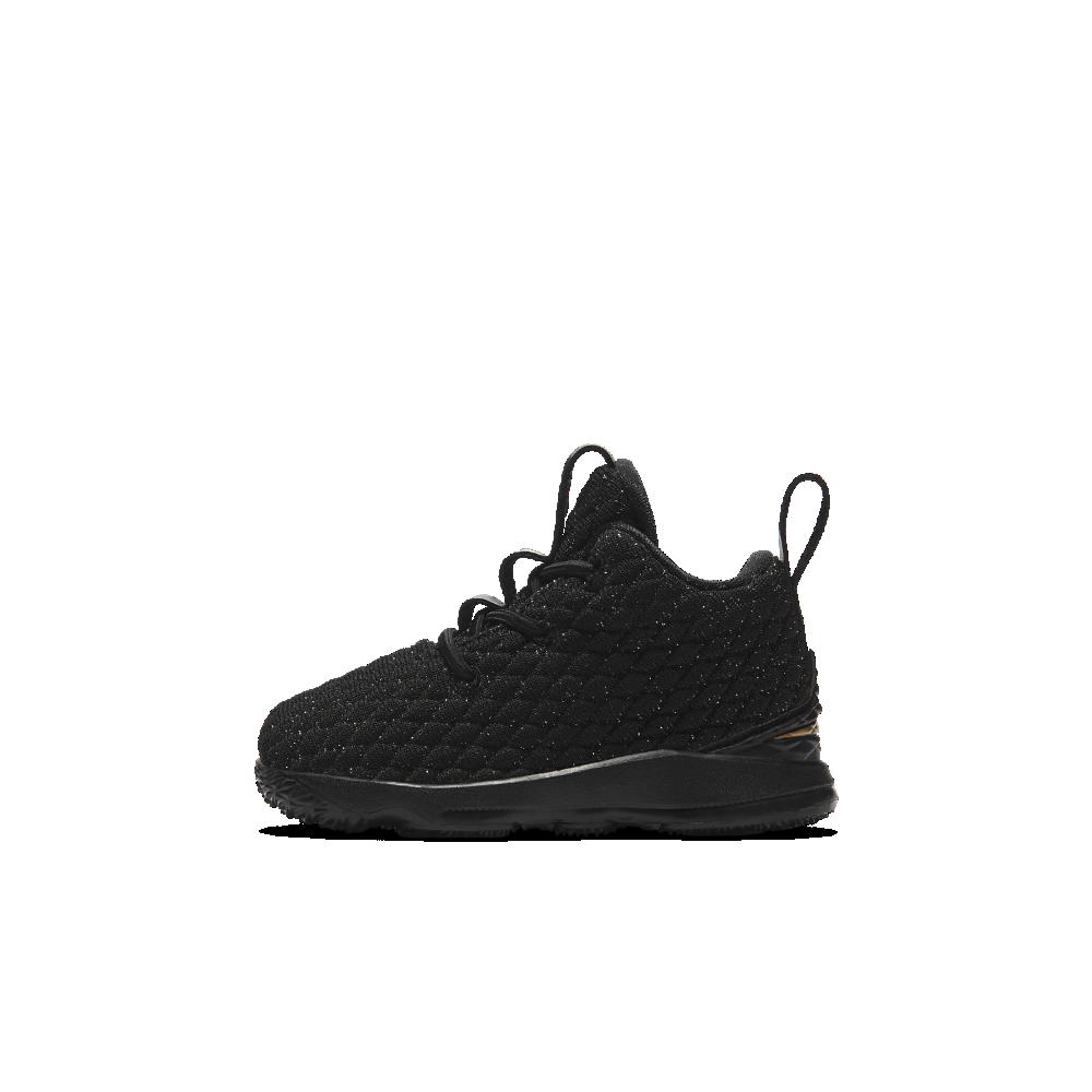 4cbf96bd8399 Nike LeBron 15 Infant Toddler Shoe Size 7C (Black)