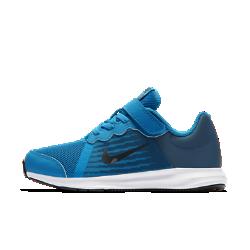 Беговые кроссовки для дошкольников Nike Downshifter 8Беговые кроссовки для дошкольников Nike Downshift 8 с верхом из легкой сетки с регулируемой лентой в области свода стопы обеспечивают вентиляцию, комфорт и поддержку в любой ситуации.<br>