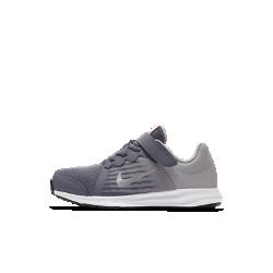 Кроссовки для дошкольников Nike Downshifter 8Беговые кроссовки для дошкольников Nike Downshifter 8 с верхом из легкой сетки с регулируемой лентой в области свода стопы обеспечивают вентиляцию, комфорт и поддержку в любой ситуации.<br>