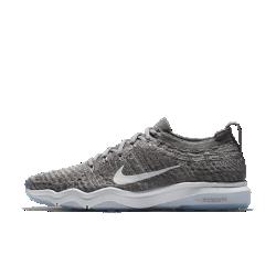 Женские кроссовки для тренинга Nike Air Zoom Fearless Flyknit LuxЖенские кроссовки для тренинга Nike Air Zoom Fearless Flyknit Lux обеспечивают гибкость, стабилизацию, мгновенную амортизацию и надежное сцепление на пробежках и интенсивных тренировках.<br>