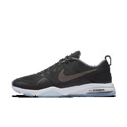 Женские кроссовки для тренинга Nike Zoom Fitness MetallicЖенские кроссовки для тренинга Nike Zoom Fitness Metallic с поддерживающим верхом из сетки и мгновенной амортизацией Zoom Air обеспечивают комфорт на самых интенсивных тренировках.<br>
