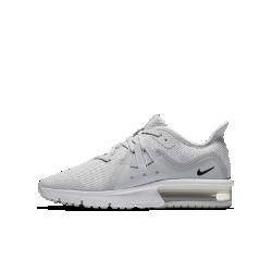 Беговые кроссовки для школьников Nike Air Max Sequent 3Беговые кроссовки для школьников Nike Air Max Sequent 3 сочетают вставку Max Air в области пятки, мягкий амортизирующий пеноматериал и желобки в подошве для плавных движений стопы.<br>