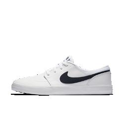 Мужская обувь для скейтбординга Nike SB Solarsoft Portmore II PremiumМужская обувь для скейтбординга Nike SB Solarsoft Portmore II Premium с прочной конструкцией и подошвой из натуральной липкой резины создана для комфорта и превосходного сцепления с доской.<br>