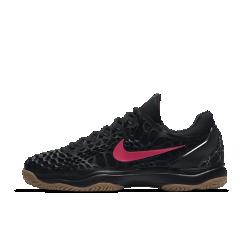 Мужские теннисные кроссовки Nike Air Zoom Cage 3 Hard Court PremiumМужские теннисные кроссовки Nike Zoom Cage 3 Hard Court Premium созданы для игроков, которые ценят силу и скорость во время игры. Уникальная, самая легкая в линейке конструкция каркаса обеспечивает максимальную прочность и амортизацию. МАКСИМАЛЬНАЯ ПРОЧНОСТЬ  Легкий каркас из материала CPU размещен в зоне максимального износа, характерной для теннисной обуви. Разделенный на зоны каркас для легкости и стабилизации.  ПРЕВОСХОДНОЕ СЦЕПЛЕНИЕ С ПОВЕРХНОСТЬЮ  Разделенная на зоны подметка для превосходного сцепления и прочности. Идеально подходит для кортов с твердым покрытием.  МАКСИМАЛЬНЫЙ КОМФОРТ  Вставка Nike Zoom Air в области пятки для мгновенной амортизации и легкости.<br>