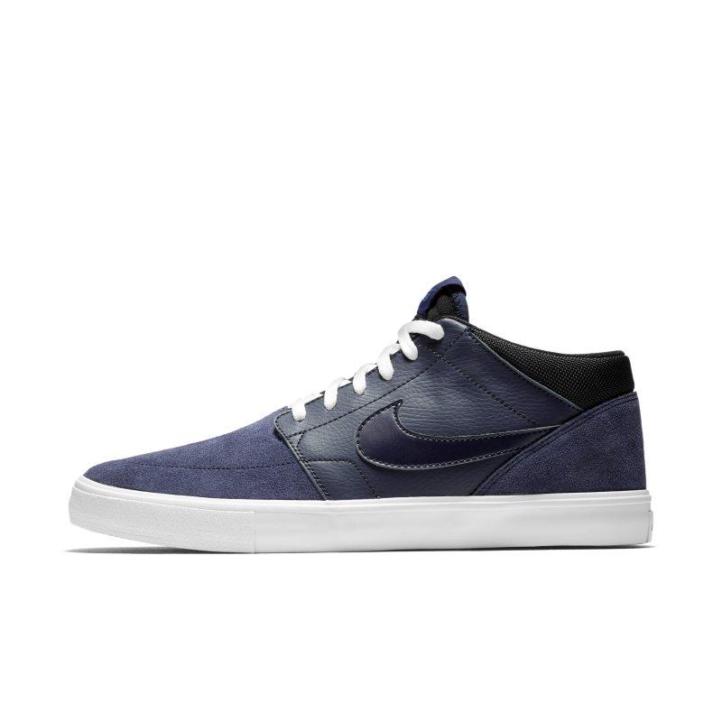 Nike SB Solarsoft Portmore II Mid Erkek Kaykay Ayakkabısı  923198-401 -  Mavi 44.5 Numara Ürün Resmi