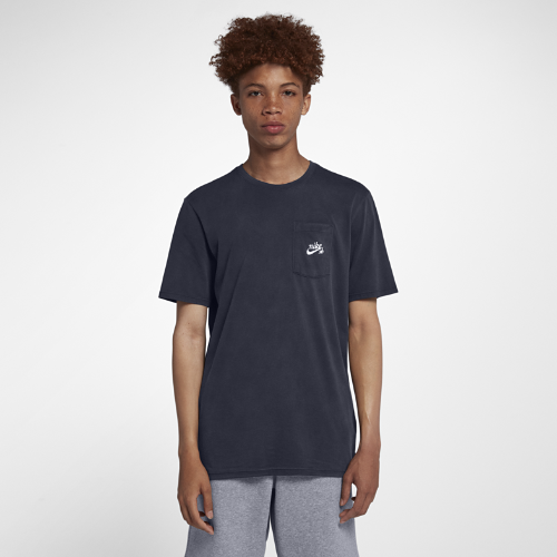 <ナイキ(NIKE)公式ストア> NEW ナイキ SB メンズ スケートボード ロゴ Tシャツ 923465-451 ブルー 会員は送料無料