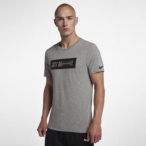 <ナイキ(NIKE)公式ストア>ナイキ Dri-FIT Just Don't Quit メンズ トレーニング Tシャツ 923543-063 グレー