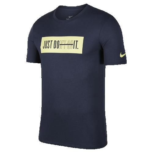 <ナイキ(NIKE)公式ストア>ナイキ Dri-FIT Just Don't Quit メンズ トレーニング Tシャツ 923543-431 ブルー