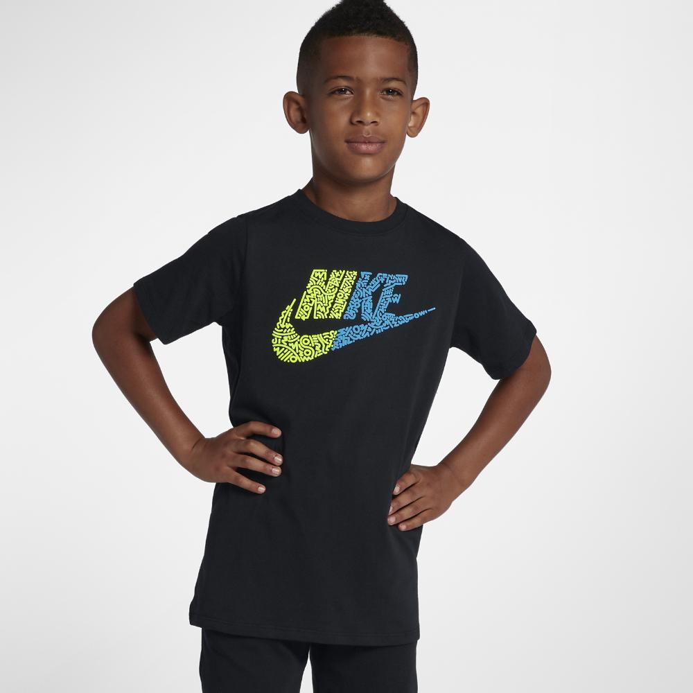 <ナイキ(NIKE)公式ストア> ナイキ スポーツウェア ジュニア (ボーイズ) Tシャツ 923669-010 ブラック ★30日間返品無料 / Nike+メンバー送料無料